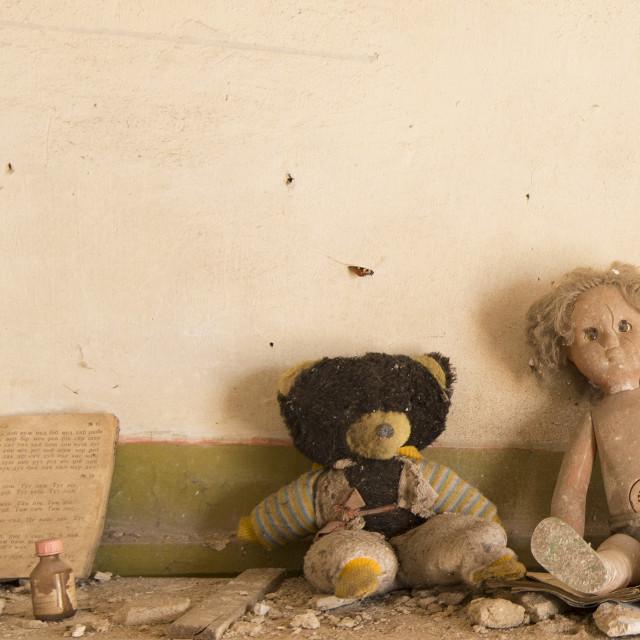 """""""Abandoned kindergarten, Chernobyl, Ukraine"""" stock image"""