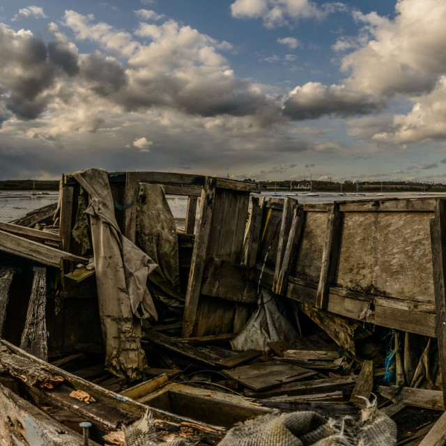 """Manningtree Collection The Panorama"" stock image"