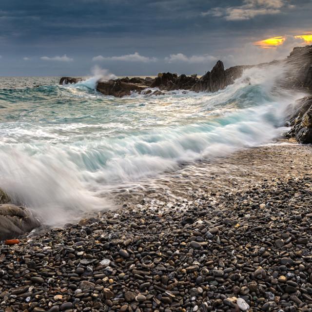 """Imagine the sea"" stock image"