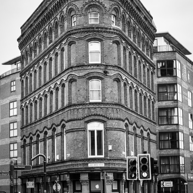 """Bridge House, Leeds, West Yorkshire."" stock image"