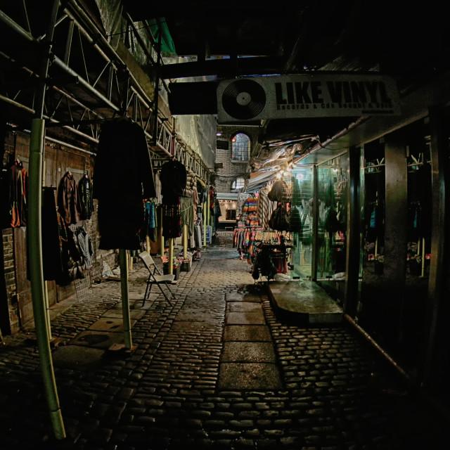 """Camden Market"" stock image"