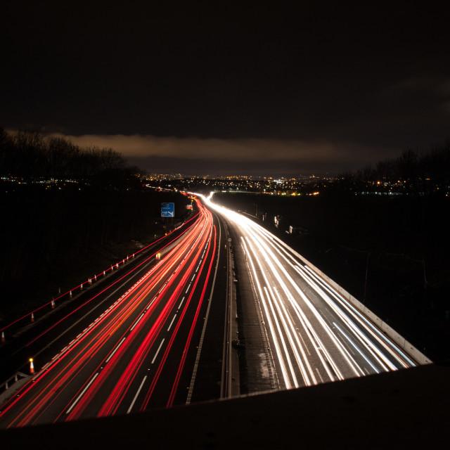 """Motorway"" stock image"