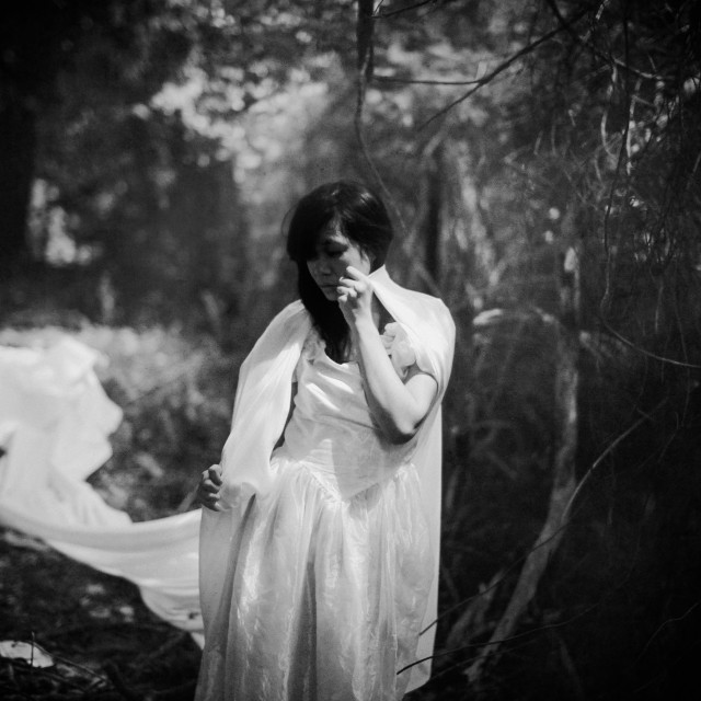 """portrait of depressed women"" stock image"