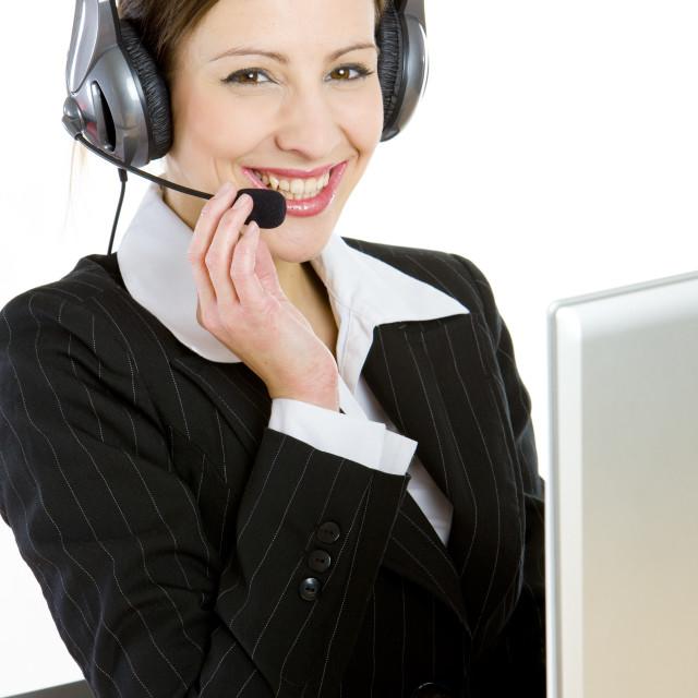 """operator"" stock image"