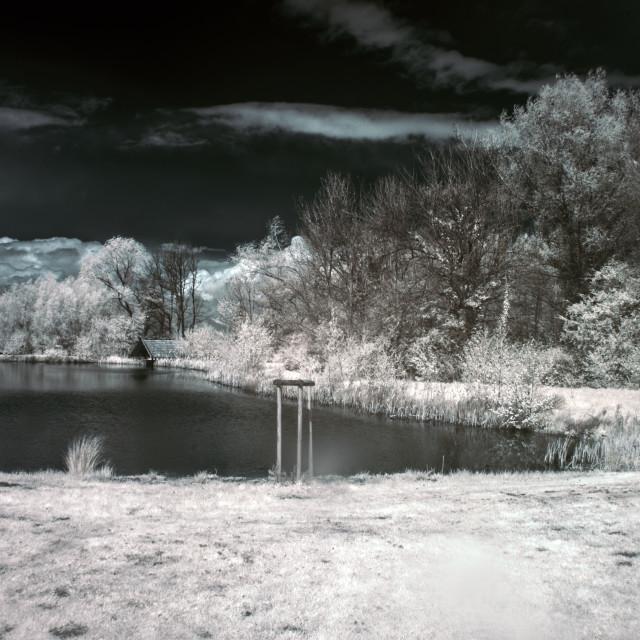 """""""Spring Fishing 2"""" stock image"""