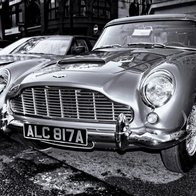 """1963 Aston Martin DB5 T"" stock image"