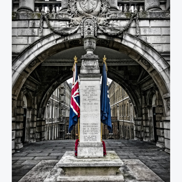 """Somerset House Memorial"" stock image"