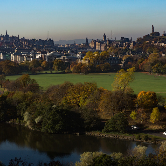"""Edinburgh Skyline 4"" stock image"