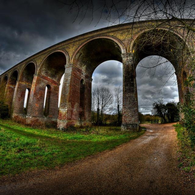 """""""Chapple viaduct."""" stock image"""