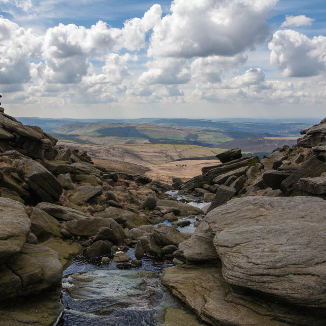"""Kinder Downfall"" stock image"