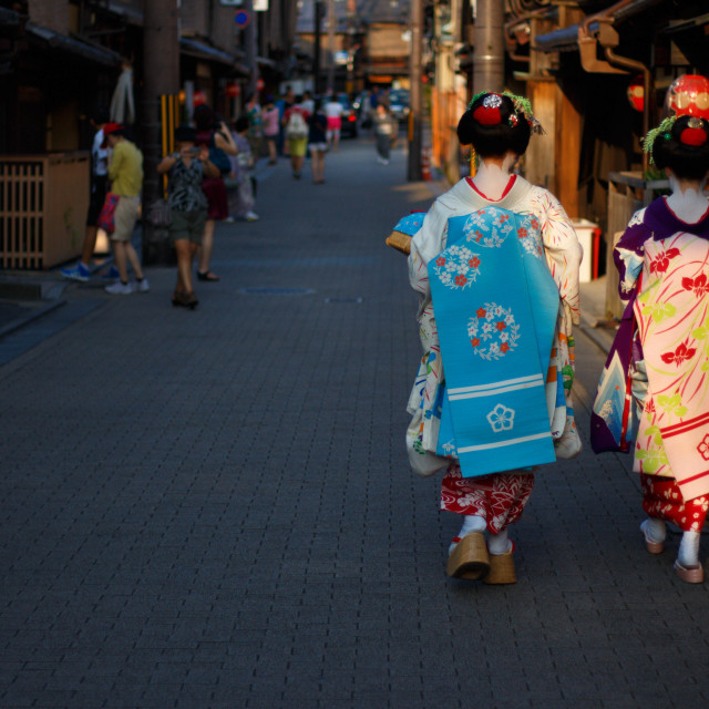 """Maiko Friends"" stock image"