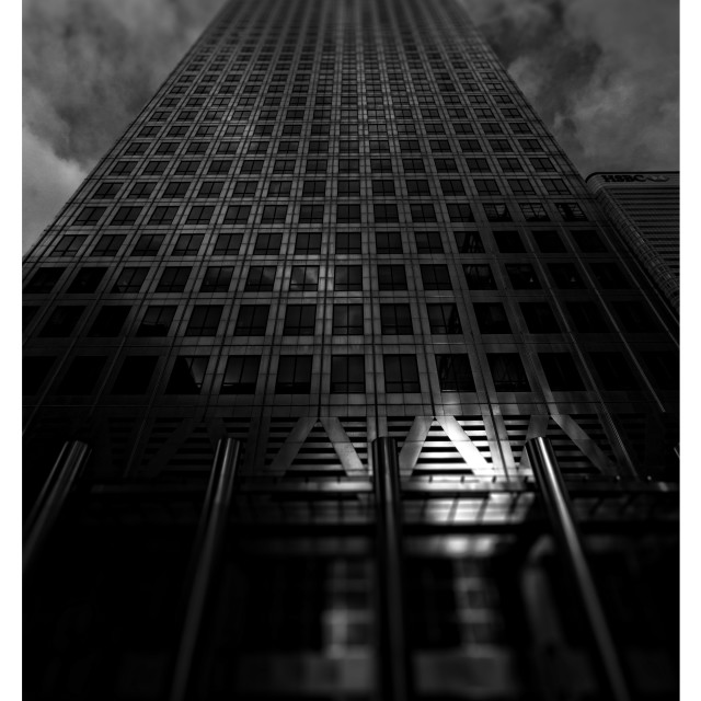 """Canary Wharf tower01"" stock image"