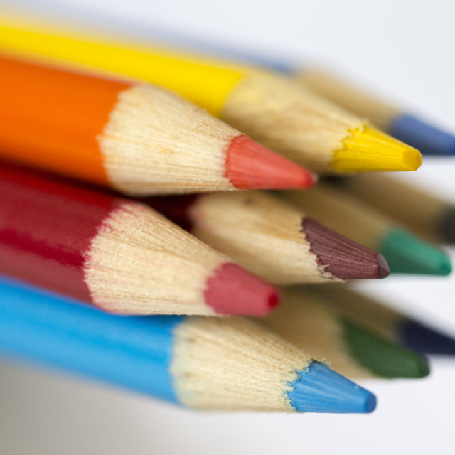 """""""Colouring Pencils"""" stock image"""