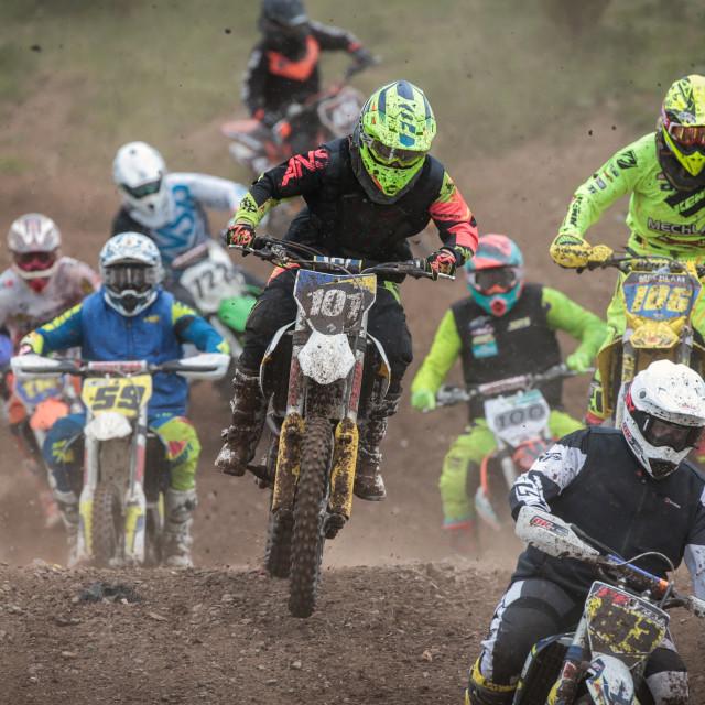 """Motocross race"" stock image"