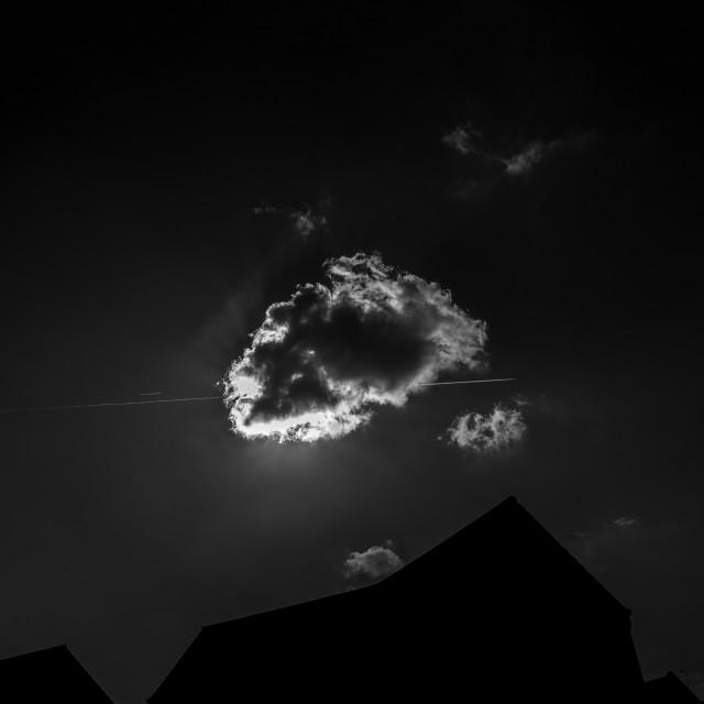 """Cloud piercing"" stock image"