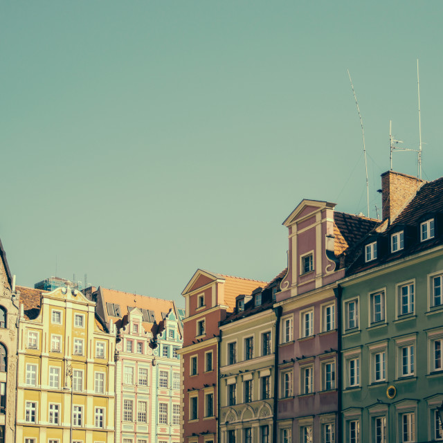 """""""Wroclaw Architecture"""" stock image"""