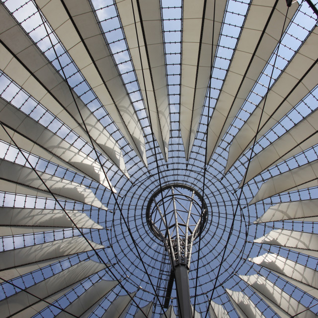 """Berlin Sony Centre"" stock image"