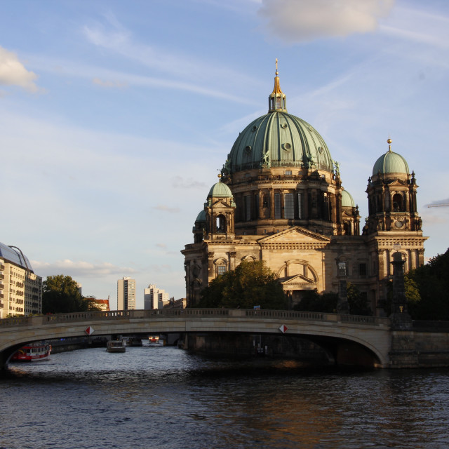 """Berlin Cathedral"" stock image"