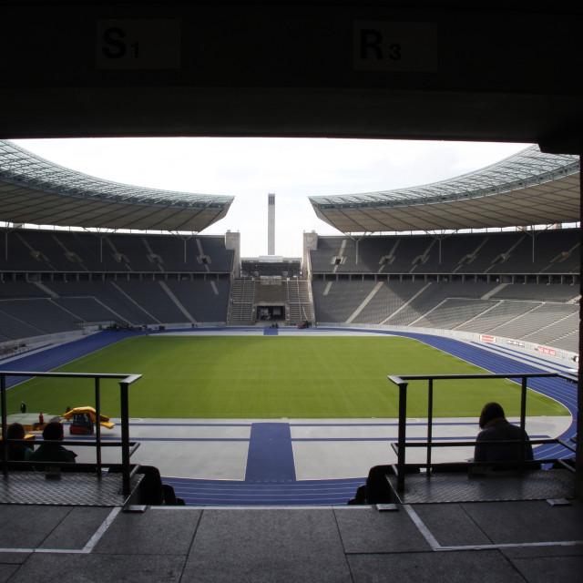 """Olympiastadion Berlin"" stock image"