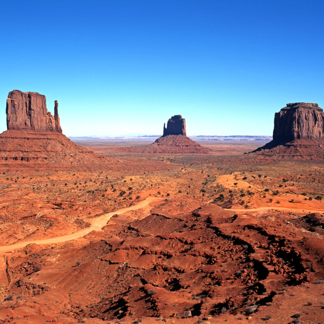 """""""Monument Valley, USA"""" stock image"""