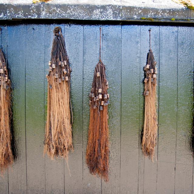 """Fishermen's nets"" stock image"