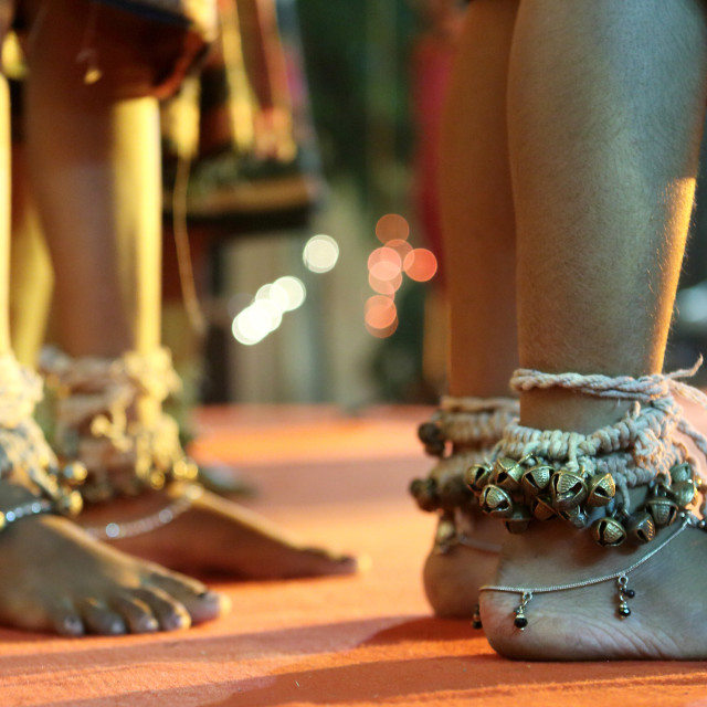 """""""Ankle bells (GHUNGROO)"""" stock image"""