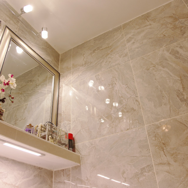 """Elegant Luxury bathroom edea"" stock image"
