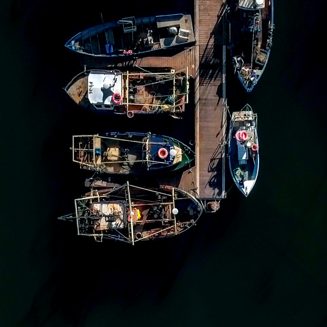 """Camber Docks"" stock image"