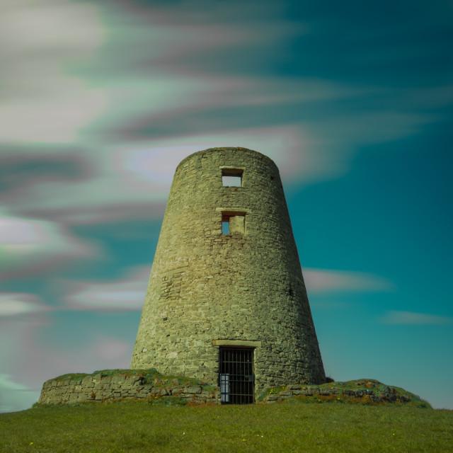 """Cleadon Mill"" stock image"
