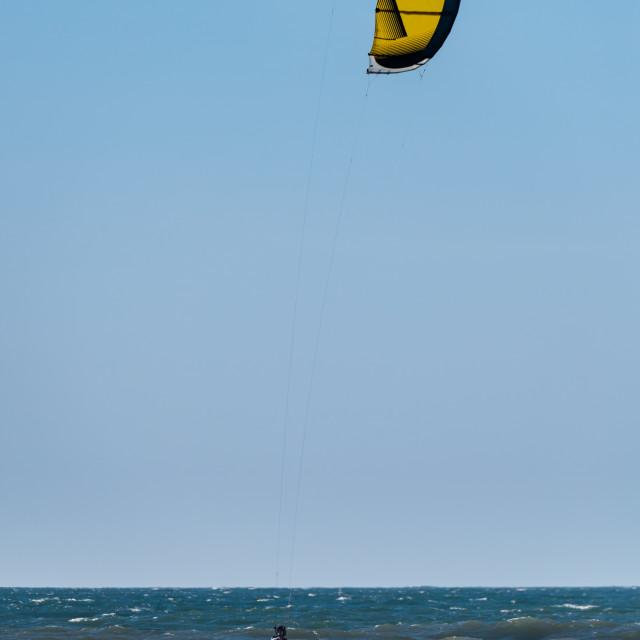 """Kite Surfer"" stock image"