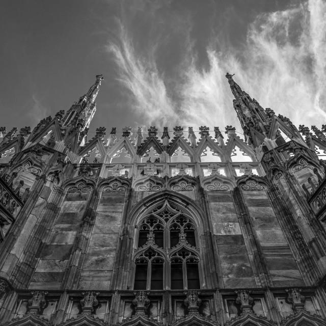 """Gothic architecture"" stock image"