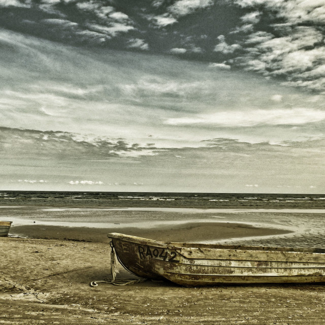 """Latvian Fishing Boats"" stock image"