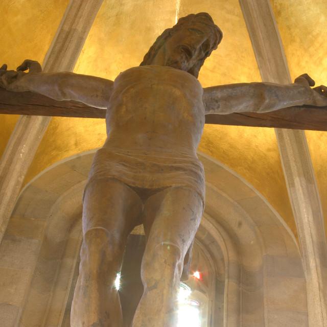 """Jesus on the cross"" stock image"