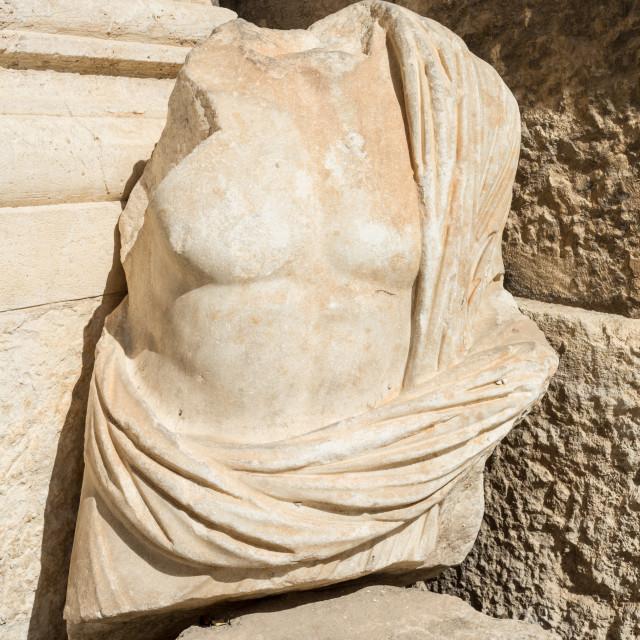 """Roman bust"" stock image"