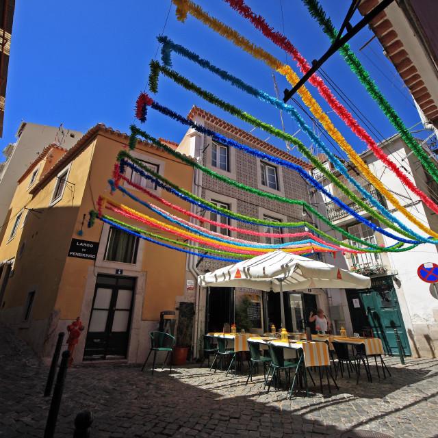 """Baixa Chiado- Lisbon"" stock image"