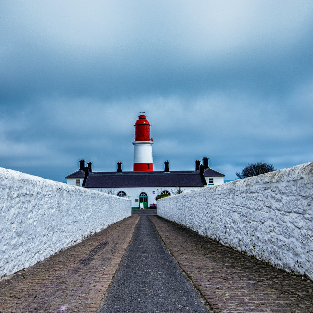 """""""Souter Lighthouse"""" stock image"""