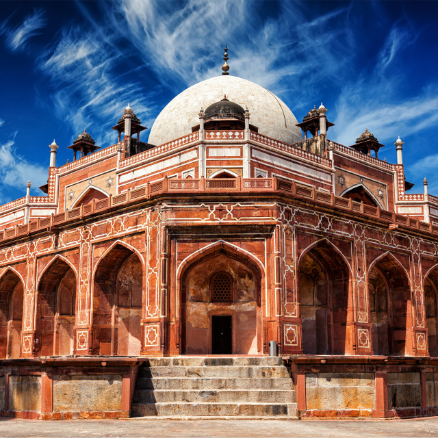 """Humayun's Tomb. Delhi, India"" stock image"