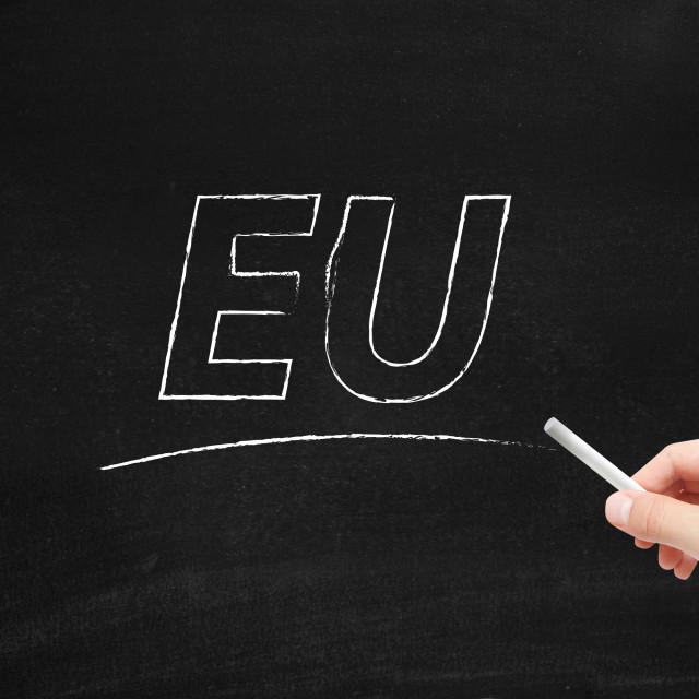 """EU"" stock image"