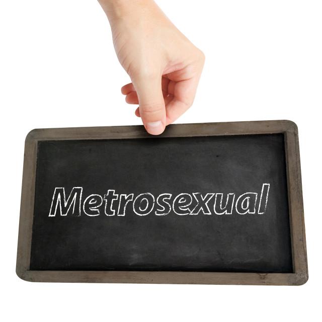 """Metrosexual"" stock image"