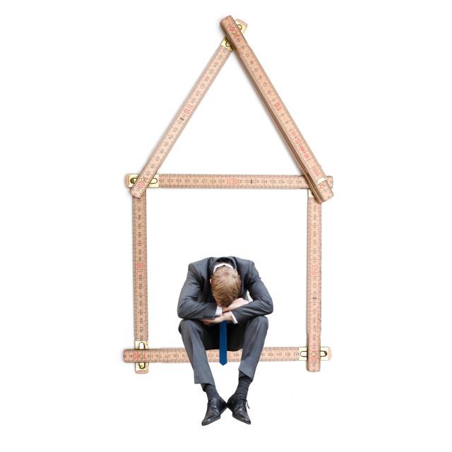 """Property crisis"" stock image"