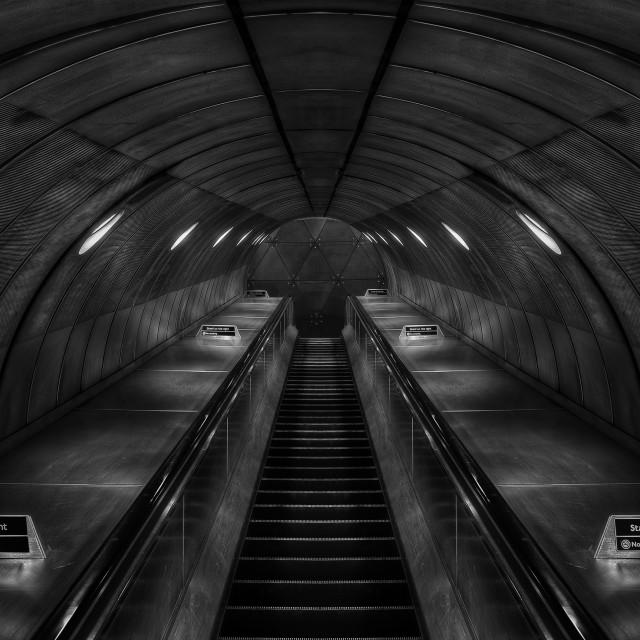 """London Underground"" stock image"