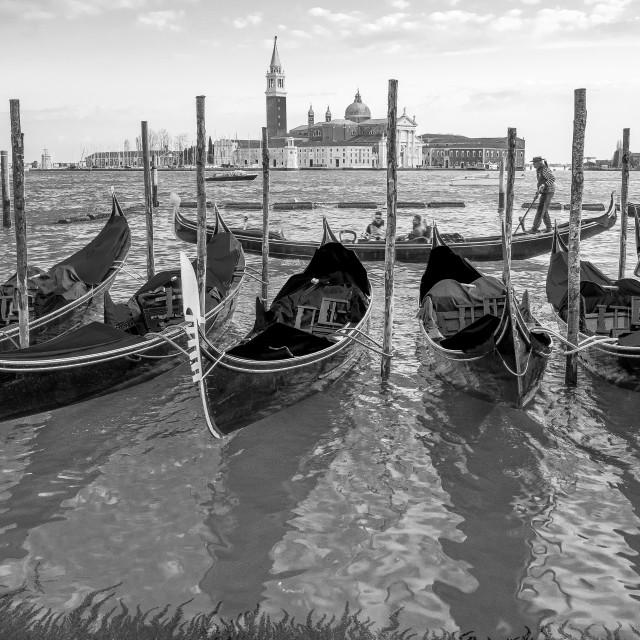 """""""Gondola tour"""" stock image"""