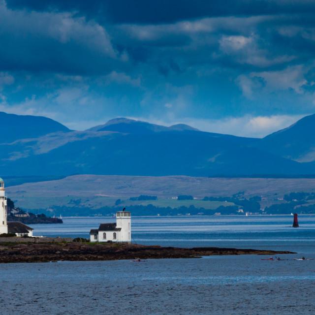 """Toward Point Lighthouse 3"" stock image"