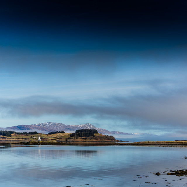 """Loch Linnhe from Port Appin 2"" stock image"