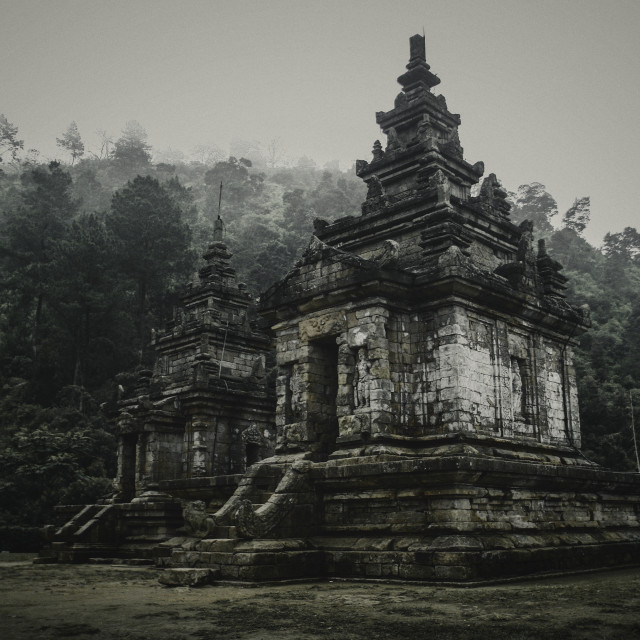 """Gedong Songo Temple"" stock image"