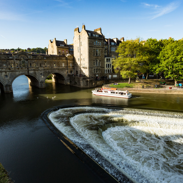 """Pulteney Bridge Bath 3"" stock image"