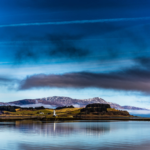 """Port Appin Lighthouse"" stock image"