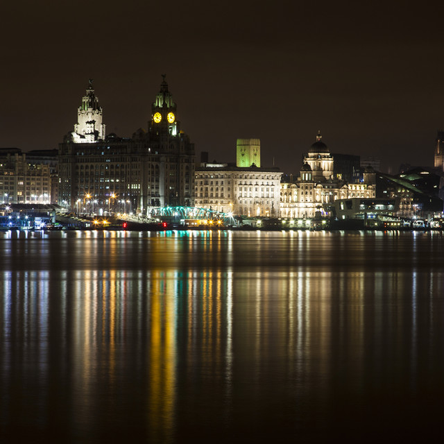 """Liverpool Waterfront"" stock image"
