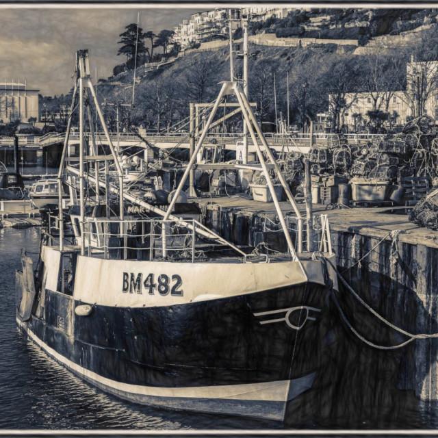 """""""The Torquay Trawler"""" stock image"""