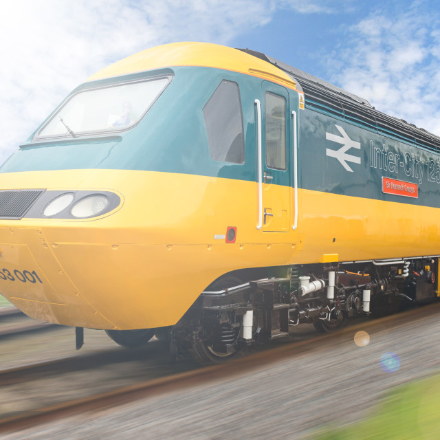 """High Speed Train HST125"" stock image"